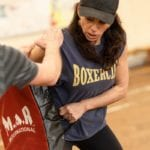 Boxercise therapy at Providence Projects