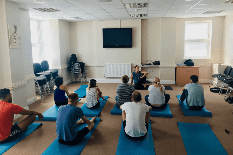 Exercise therapy as part of an alcohol rehabilitation programme